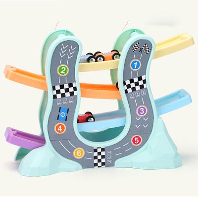 娃娃博士滑翔车儿童玩具车男孩小汽车1-3-4-5岁宝宝益智轨道车6岁可领取天猫超市优惠券5元