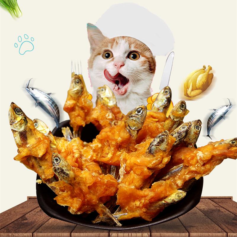 宠怡猫咪零食小鱼干鸡胸肉