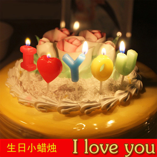 Astonishing Birthday Cake Love Candle Boyfriend Husband Birthday Decoration Funny Birthday Cards Online Inifofree Goldxyz