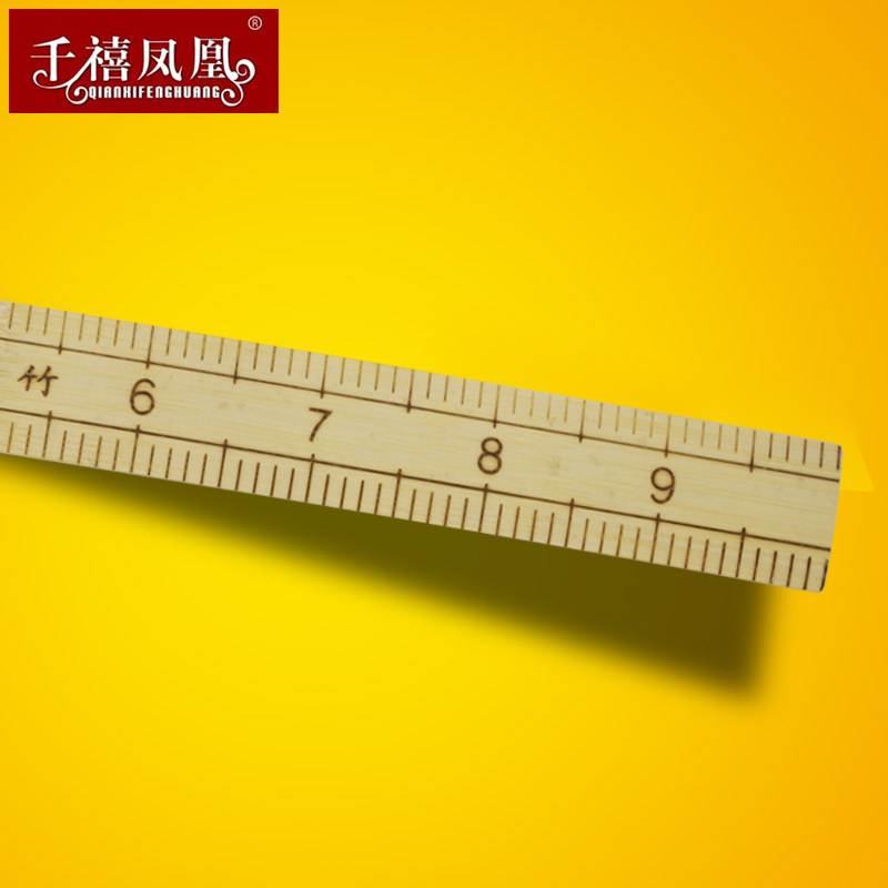Special Offer Bamboo Traditional City Ruler Bamboo Ruler Tailor Ruler Tailor Ruler Length 1 Foot