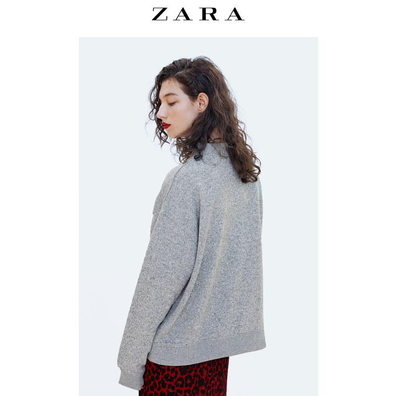 Sweatshirt femme ZARA en Polyester - Ref 3213929 Image 4