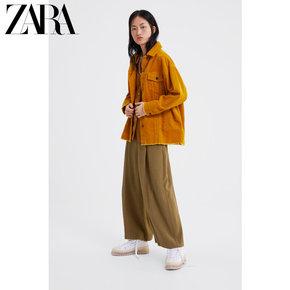 Полупальто,  ZARA новый женщины вельвет куртка пальто  08372024305, цена 3442 руб