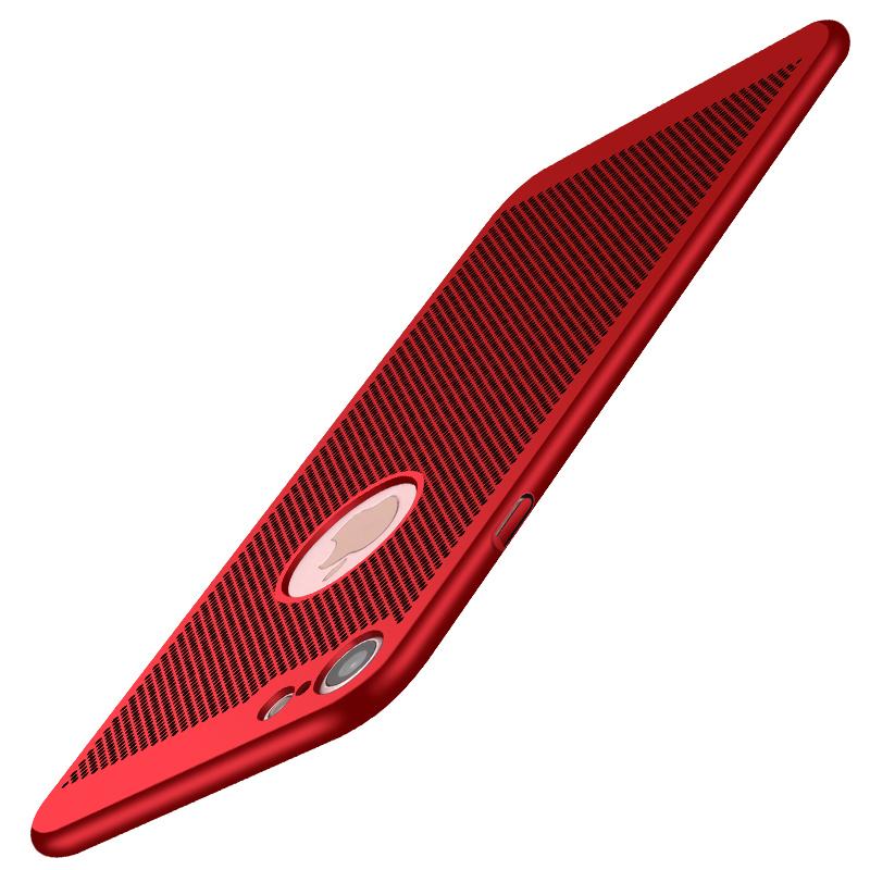苹果iphone6S散热透气6s保护壳iphone6s plus手机套游戏苹果6磨砂硬壳6plus镂空网壳6s外壳
