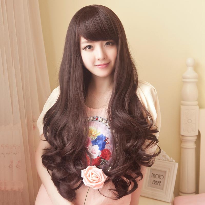 Usd 5261 Hair Show Wig Female Long Hair Cute Hairstyle Korean