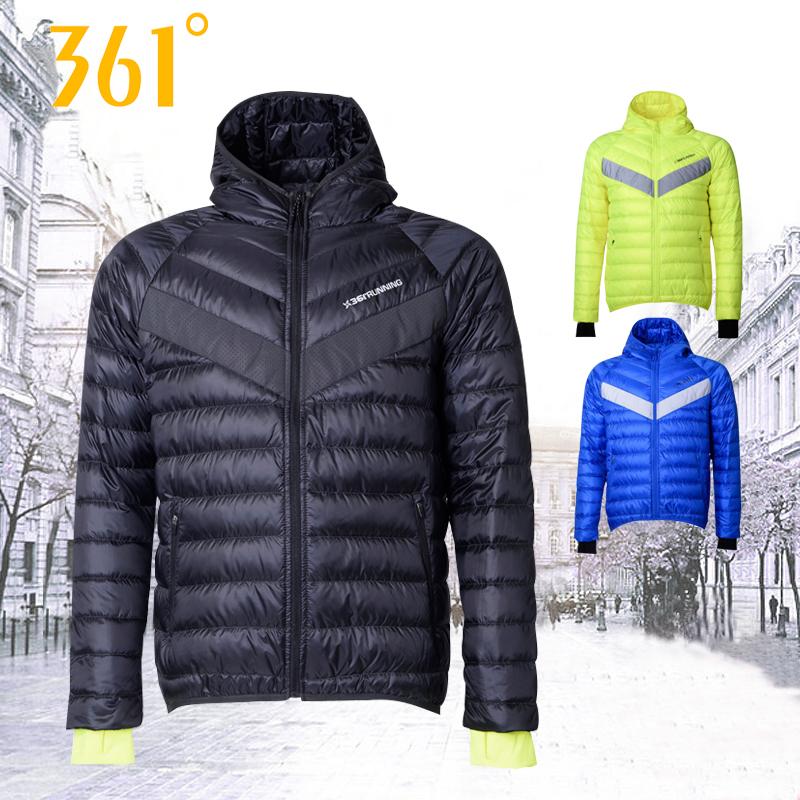 361 người đàn ông xuống áo khoác ấm áo khoác mùa đông áo sơ mi mới 361 độ chính thức xác thực giản dị thoải mái thể thao