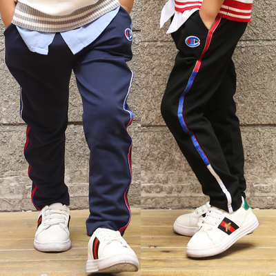 Boys fall sports pants children 's cotton trousers in the spring and autumn children' s clothing children 's trousers