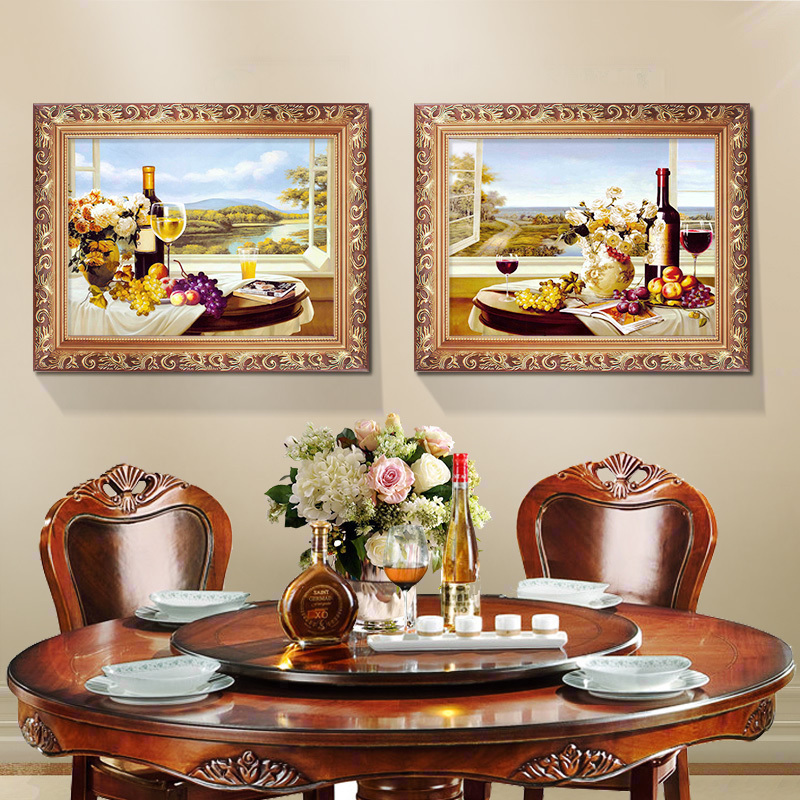 Charmant European Restaurant Decorative Painting Table Fruit Murals Dining Room  Background Wall Painting Hotel Corridor Porch Painting