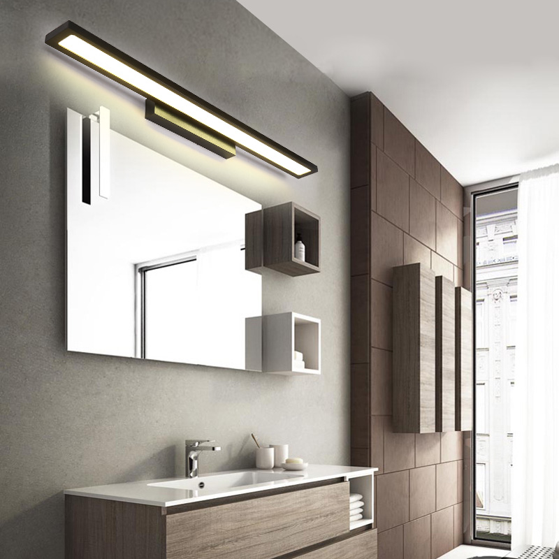 Nordic bathroom mirror lamp led bathroom mirror lamp modern simple nordic bathroom mirror lamp led bathroom mirror lamp modern simple dressing lamp bathroom waterproof wall lamp aloadofball