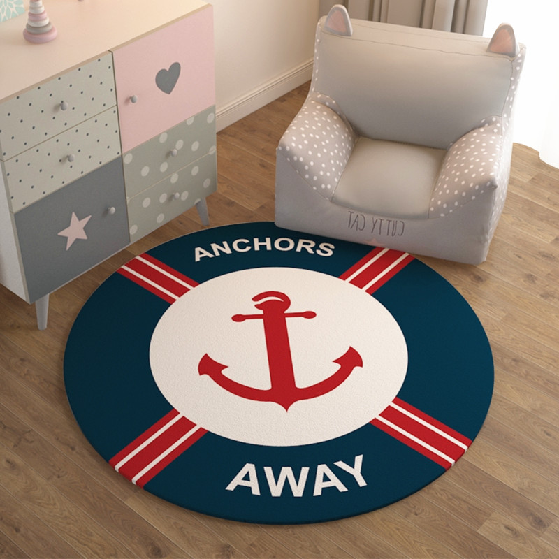Rose Red Anchor Away