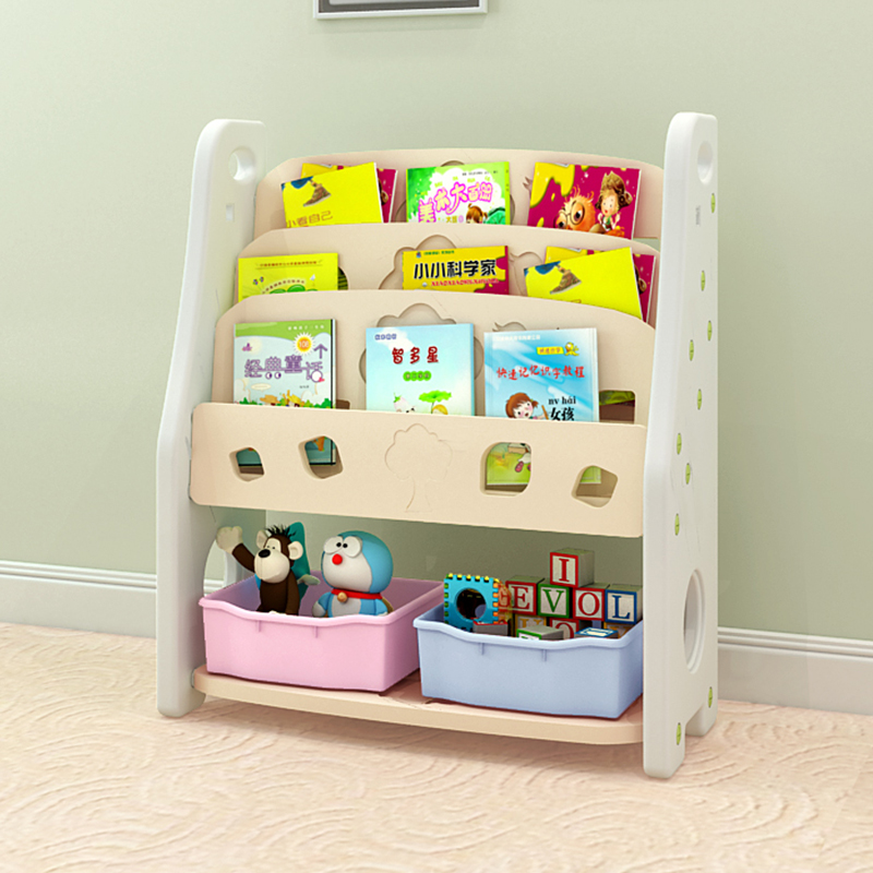 USD 11164 Baby Bookshelf Plastic Cartoon Picture Frame Childrens