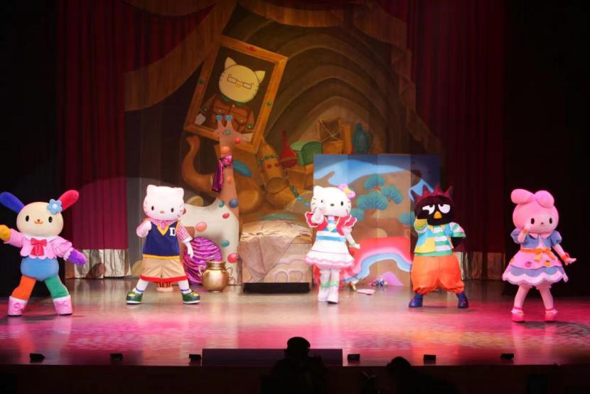 2021日本原版引进HelloKitty舞台音乐剧《HelloKitty超级冒险西游记》中文版-重庆站
