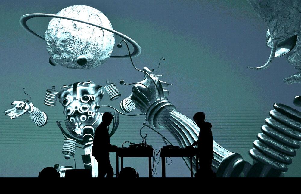 视听艺术表演《数学考古中的虚拟美术馆2号》-广州站