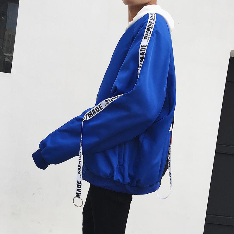 Xu hướng mùa xuân mới nam chú hề băng vài áo khoác Hàn Quốc phần mỏng sinh viên giản dị cá tính áo khoác đồng phục bóng chày đẹp trai