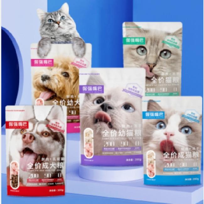 倔强嘴巴无谷冻干猫粮试吃装鲜肉0肉粉益生菌通用型中小型犬粮