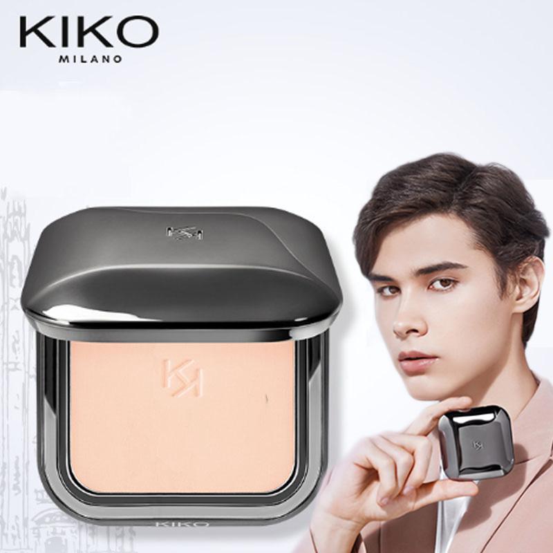 KIKO粉饼散粉蜜粉饼控油定妆补妆遮瑕持妆干湿两用便携官方正品