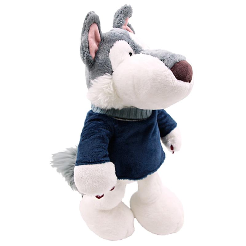 德國NICI雪橇犬哈士奇公仔毛絨玩偶大公仔家居擺件女生兒童禮物