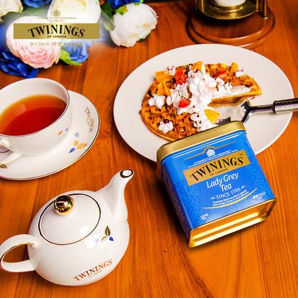 川宁/TWININGS 英国原装进口仕女伯爵红茶 罐装散装茶叶 进口红茶