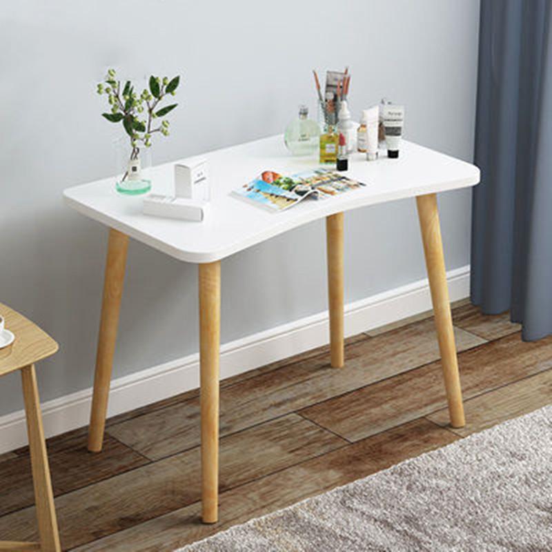 北欧梳妆台化妆台实木�腿网红卧室经济型简约现代迷你化妆桌