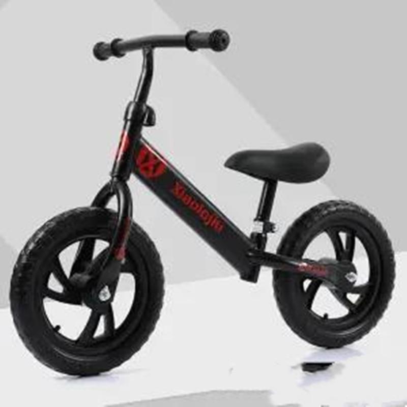 儿童平衡车双轮宝宝学步车无脚踏自行车竞技小孩滑行车生日礼物车