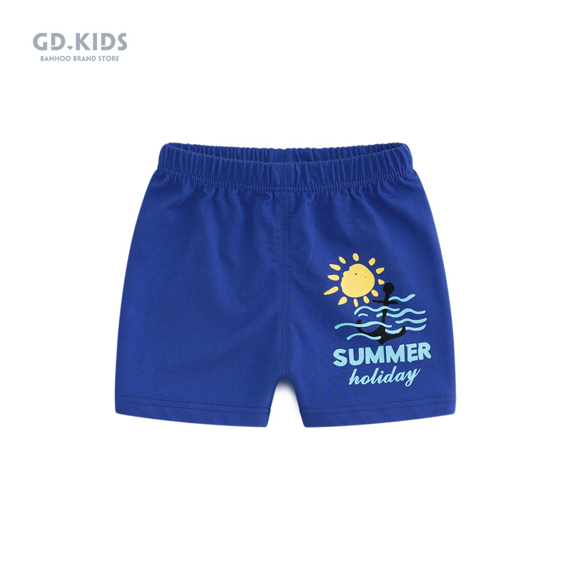 Baby pants summer thin 0 children's shorts boys wear casual pants cotton briefs 3 can open file beach pants