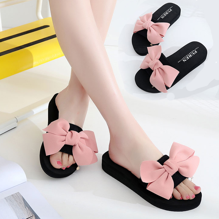f898ebace 2019 new slippers female summer wear fashion sandals drag flat bottom with  beach sandals