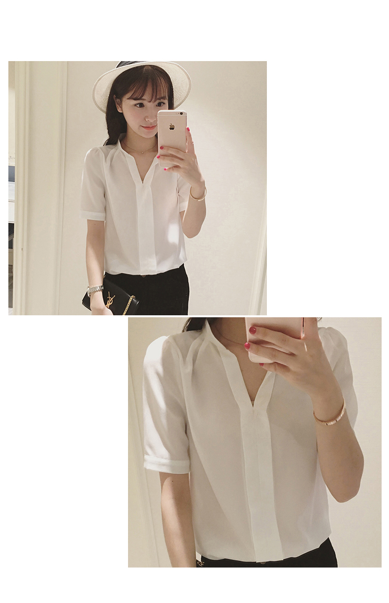 Jys Fashion Korean Style Top Blouse Collection 69 11street Malaysia Blouses