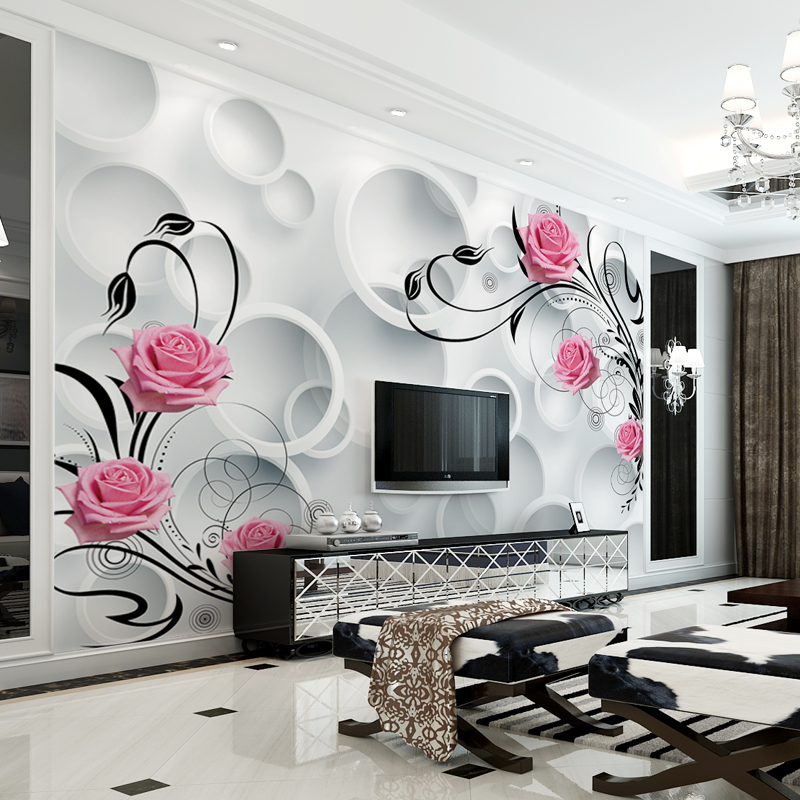 Usd 2413 Tv Background Wall Paper Living Room 3d Wallpaper 5d