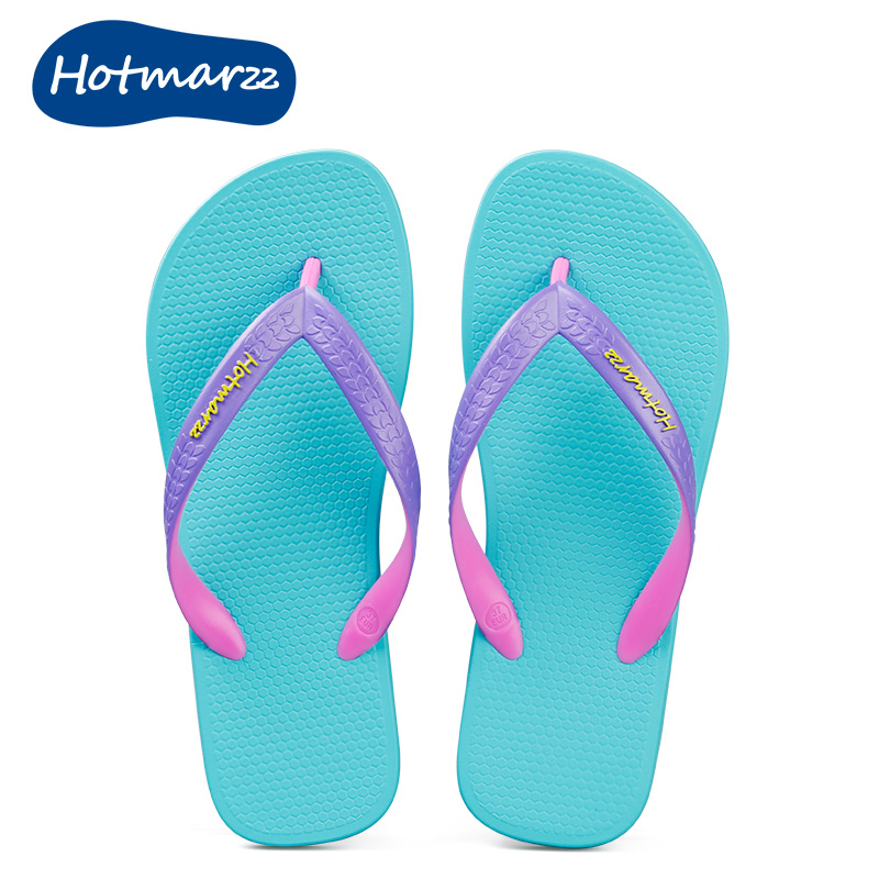 56a183b3087 hotmarzz couple flip-flops summer casual flip-slip sandals women flat  sandals