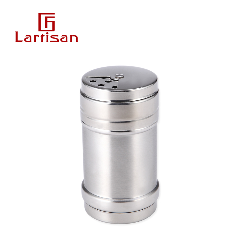 lartisan stainless steel outdoor home seasoning cans seasoning bottle barbecue accessories Rotary sprinkler sprinkle tank