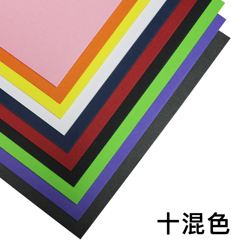 Color cardboard 230g thick cardboard a4 handmade paper hand painted color cardboard 230g thick cardboard a4 handmade paper hand painted greeting card children painting art material m4hsunfo