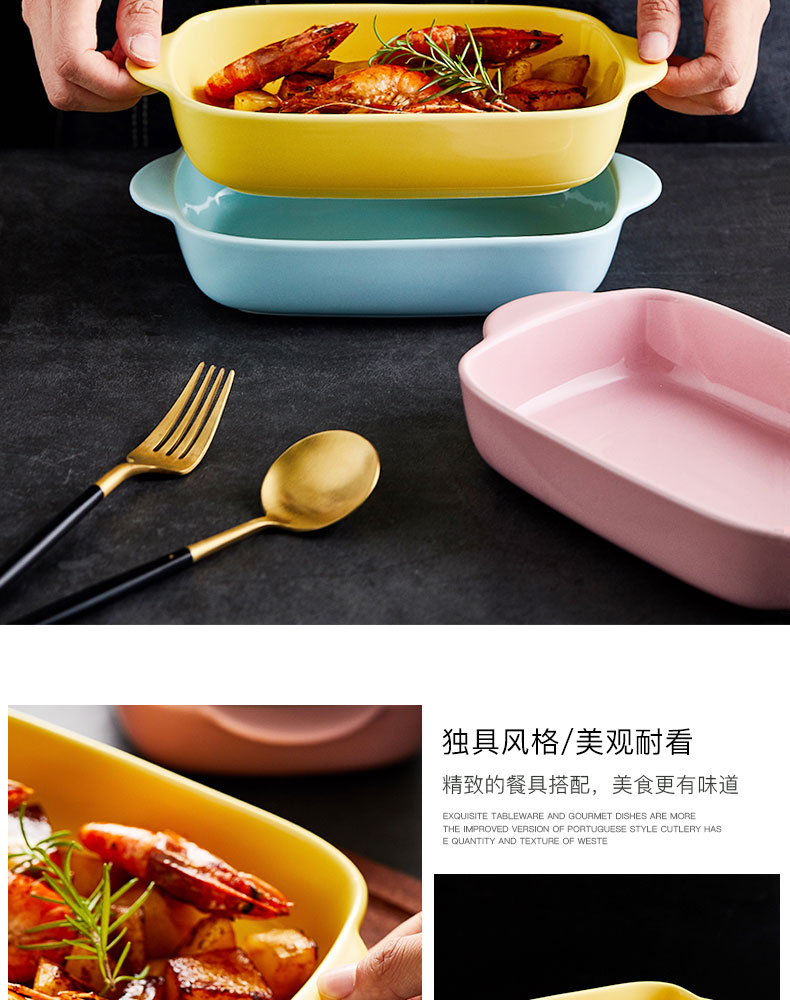 Orange leaves pan baked cheese baked FanPan bowl bowl ceramics oven plate microwave oven dish dish special creative cuisine