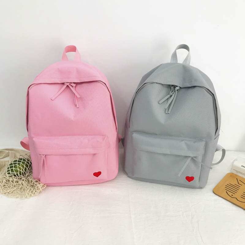 Trend simple love backpack NHXC139594