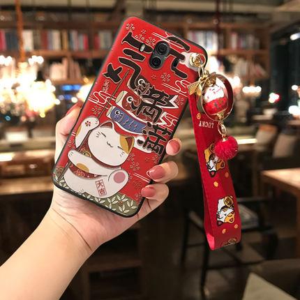 鑫魔王华为mate20手机壳招财猫