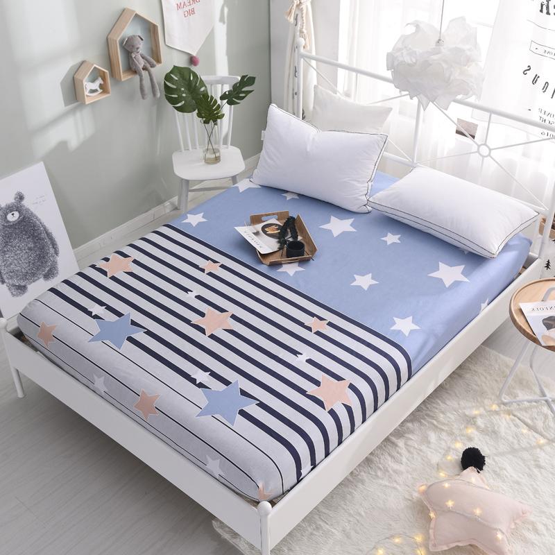 Giường 笠 đơn mảnh bông khăn trải giường cotton trải giường 1.2m1.5 m 1.8 nệm Simmons bảo vệ bìa trải giường