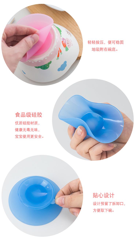 可爱卡通儿童陶瓷碗单个创意小汤碗少女心家用餐具套组宝宝吃饭碗详细照片