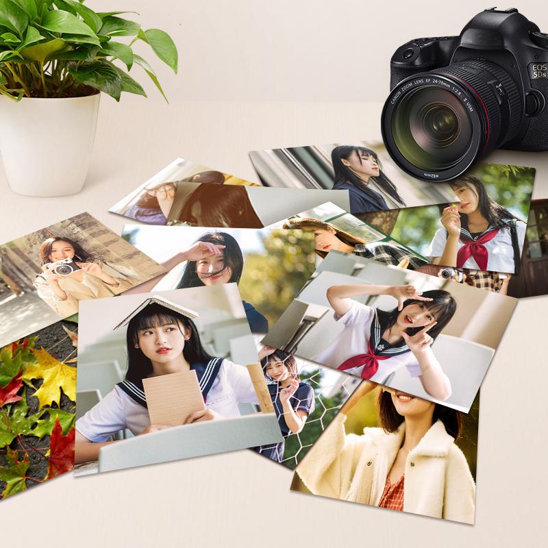 【仅3.8】洗照片5寸50张乐凯照片冲印