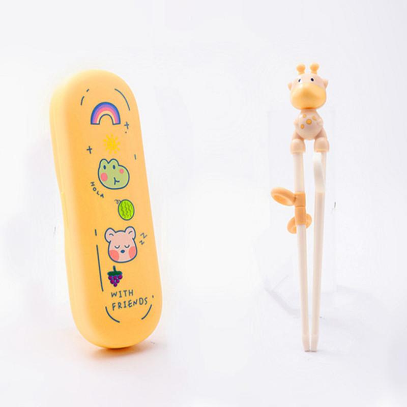 GoryeoBaby儿童筷子宝宝学习筷练习训练筷一段不锈钢勺叉套装包邮