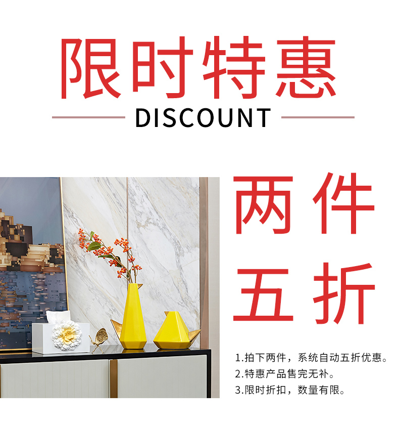 Two looking percent preferential sitting room adornment ark, TV ark, creative small ornament home decoration ceramic arts and crafts
