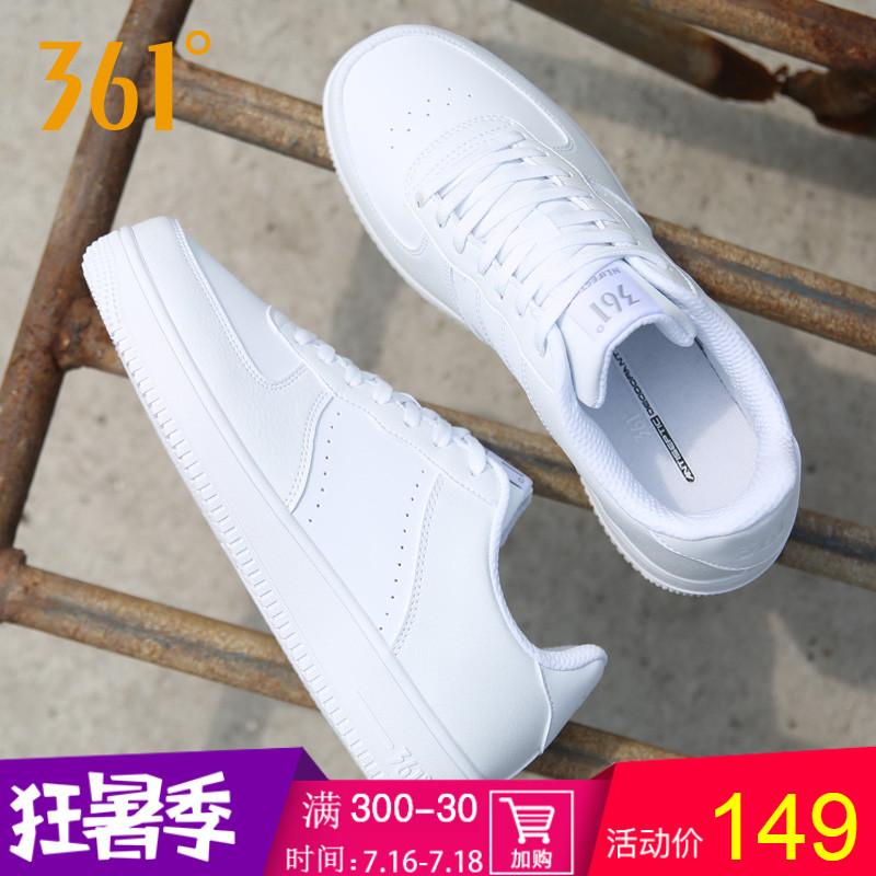 361 giày nam giày 2018 mùa hè thoáng khí air force số 1 thấp để giúp giày thường nhỏ màu trắng giày thể thao màu trắng giày người đàn ông