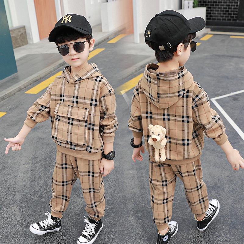 童装男童春装套装韩版帅气潮中小童春秋季8小男孩9岁洋气儿童衣服