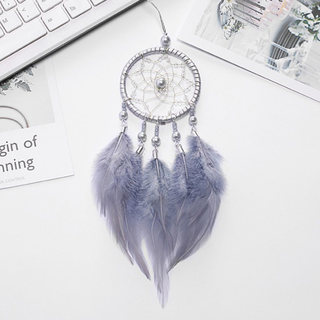 Dream net wind bell hanging car interior pendant color feather complement dream net creative hand-made holiday gifts