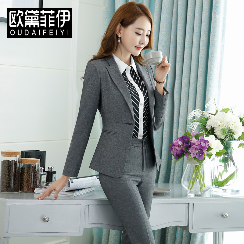 Usd 132 88 Professional Dress Women S Suit 2018 Spring And Autumn