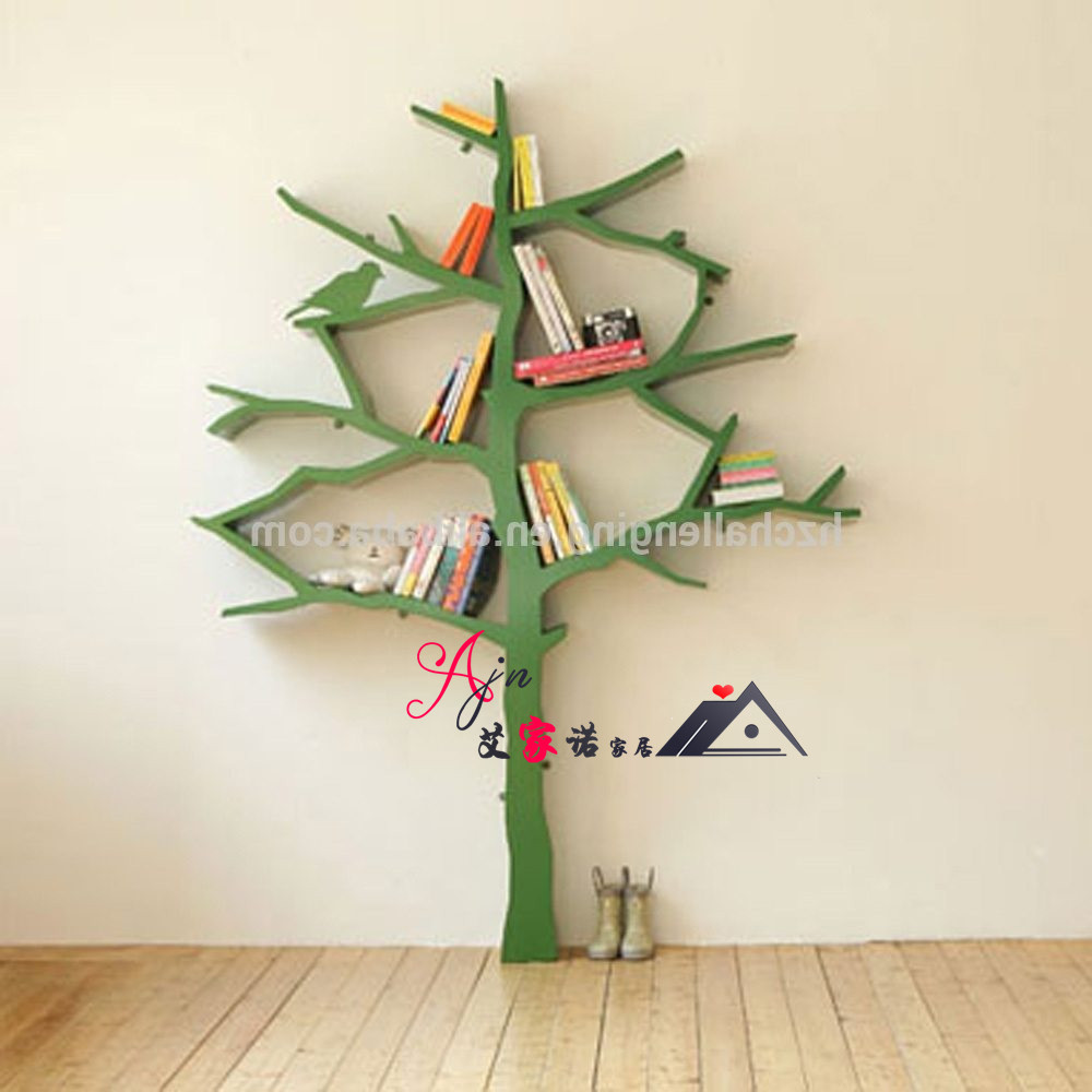 TreeBookshelf Smart Tree Bookshelf Kids Type Glass Steel Creative Storage