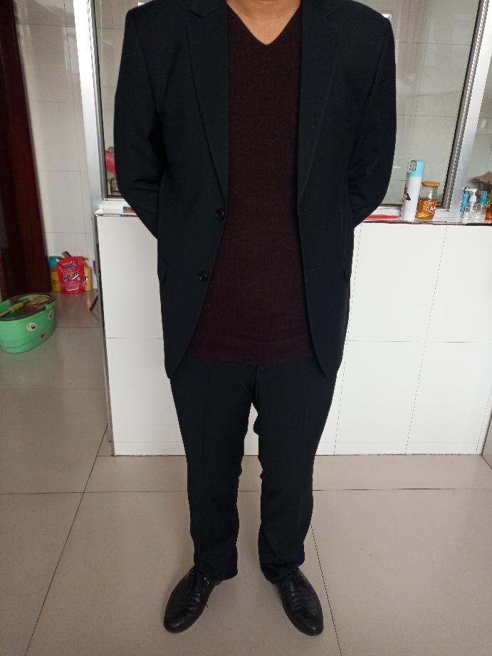 劲霸男士商务西服西装秋季商务单西服外套男