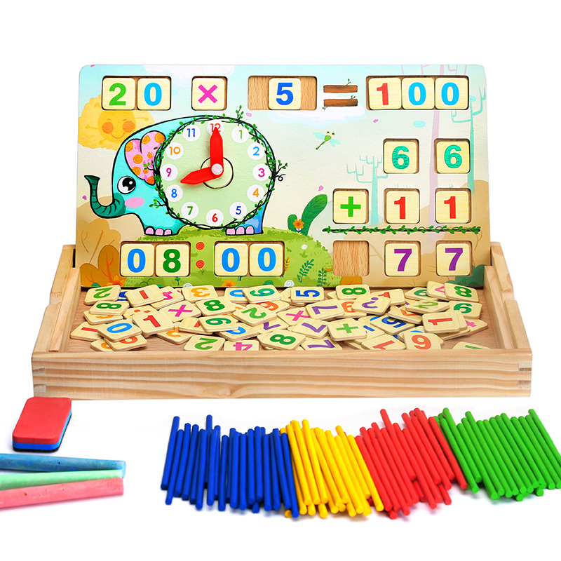 Big Step Children Counting Stick Multi Purpose Learning Box First