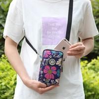 Новая коллекция корейская версия Джокер мобильный телефон пакет Женщина перекинула пакет Изменение запястья пакет лето один Плечо вертикальное стиль мини пакет пакет