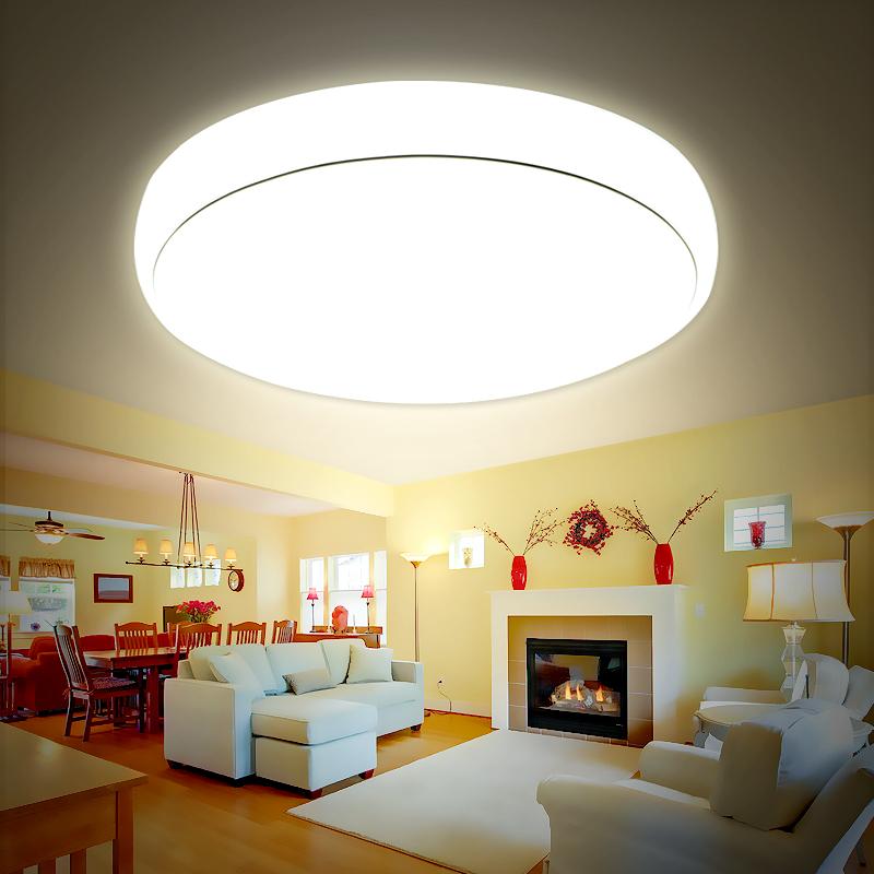 蓝禾照明 圆形led吸顶灯具小卧阳台灯过道灯走廊餐厅现代简约灯具