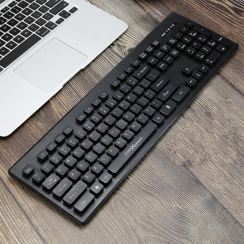 COOLXSPEED无线键盘鼠标套装巧克力超薄静音无声笔记本电脑台式外接游戏家用办公打字专用键鼠男女生可爱无限
