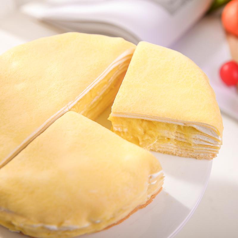 巧师傅榴莲千层蛋糕,喜欢榴莲女生好物