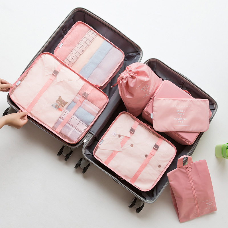 Upgraded Seven-piece Set-pink